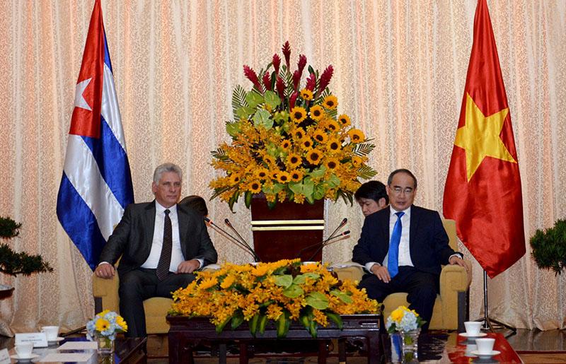 Tp Hồ Chí Minh sẵn sàng hiện thực hóa các mô hình thí điểm hợp tác với Cuba