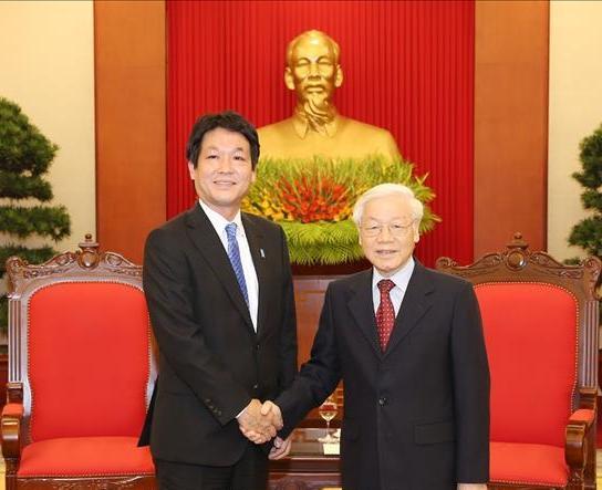 Đảng và Nhà nước Việt Nam luôn coi trọng quan hệ với Nhật Bản