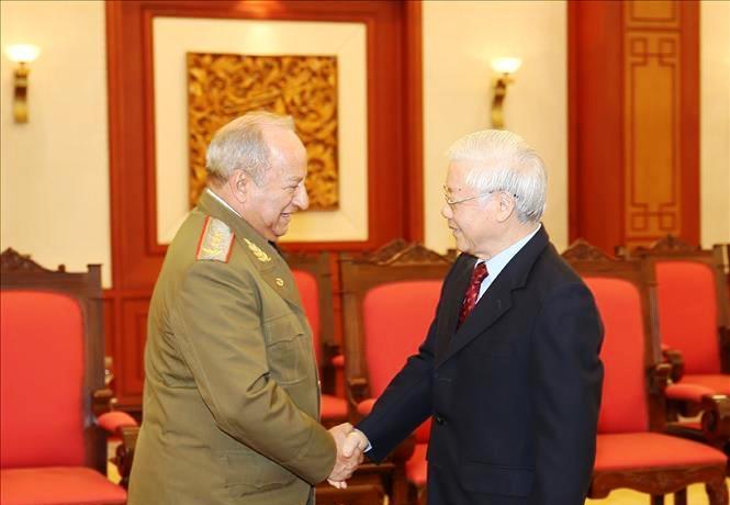 Quốc phòng Việt Nam - Cu-ba tiếp tục tăng cường và phát triển