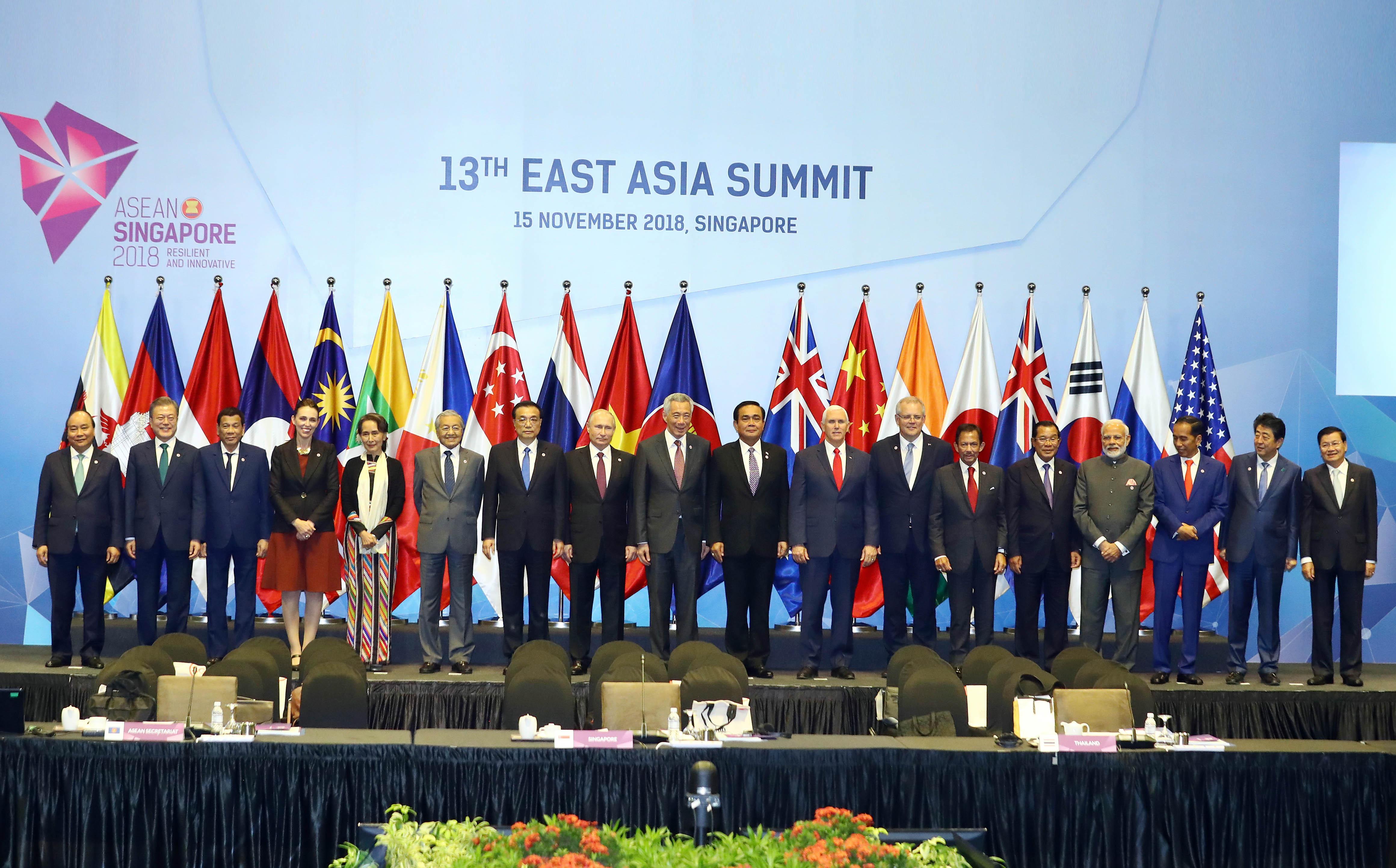 Tiếp tục củng cố EAS là cơ chế hàng đầu đối thoại về các vấn đề chiến lược ở khu vực
