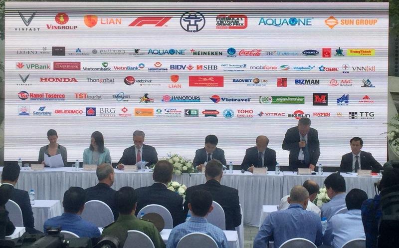 Giải đua ô tô Công thức 1 sẽ được tổ chức tại Hà Nội vào năm 2020