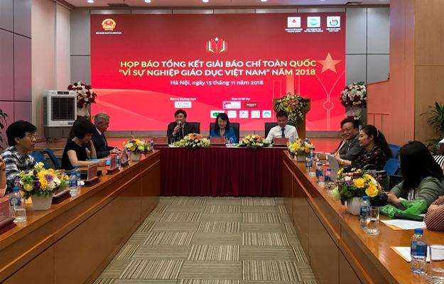"""Gần 700 tác phẩm tham dự Giải Báo chí toàn quốc """"Vì sự nghiệp giáo dục Việt Nam"""""""