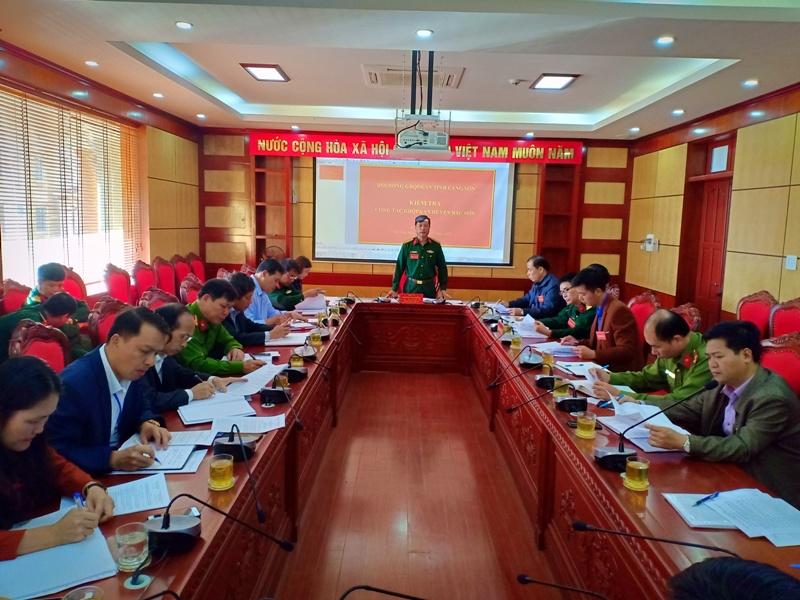 Bắc Sơn (Lạng Sơn): Chú trọng công tác giáo dục quốc phòng, an ninh