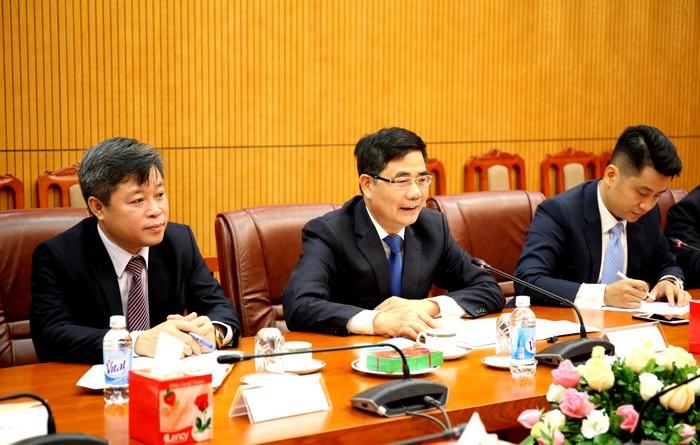 Tăng cường hợp tác với Trung tâm Nghiên cứu phát triển Quốc vụ viện Trung Quốc