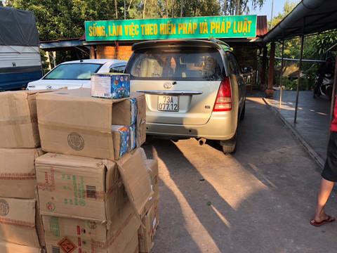 Quảng Trị: Bắt giữ liên tiếp các vụ vận chuyển pháo lậu từ Lào về Việt Nam