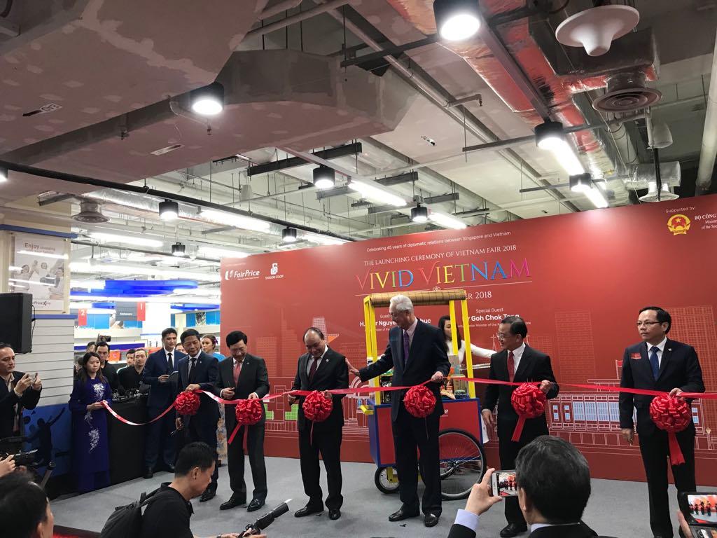 600 mặt hàng của Việt Nam đã được đưa vào hệ thống siêu thị tại Singapore