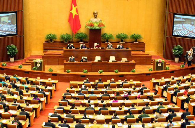 Thông cáo số 12, kỳ họp thứ 6, Quốc hội khóa XIV