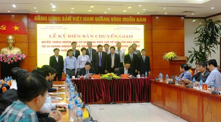 Ủy ban Quản lý vốn nhà nước tại doanh nghiệp hoàn thành tiếp nhận 19 tập đoàn, tổng công ty