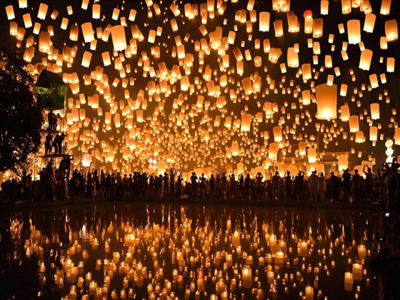 Lễ hội Ánh sáng mang tinh thần văn hóa Ấn Độ