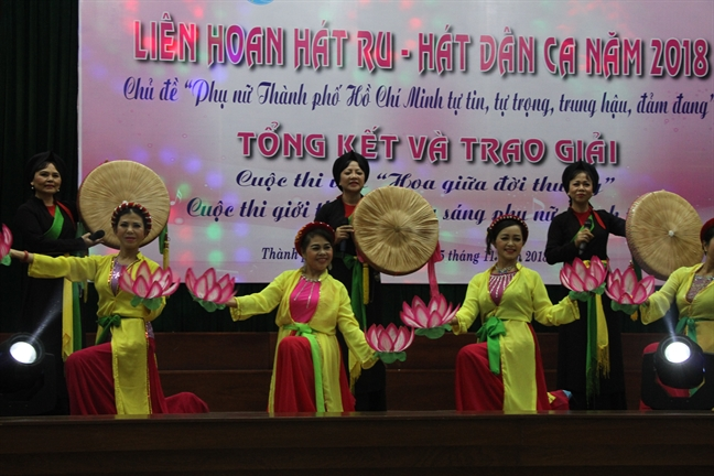 TP.Hồ Chí Minh tổ chức Liên hoan Hát ru - Hát dân ca