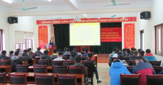 Đảng bộ TP Hạ Long (Quảng Ninh): Nâng cao chất lượng công tác phát triển đảng viên