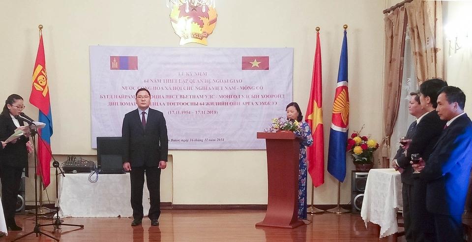 Tăng cường quan hệ hữu nghị, hợp tác truyền thống Việt Nam – Mông Cổ