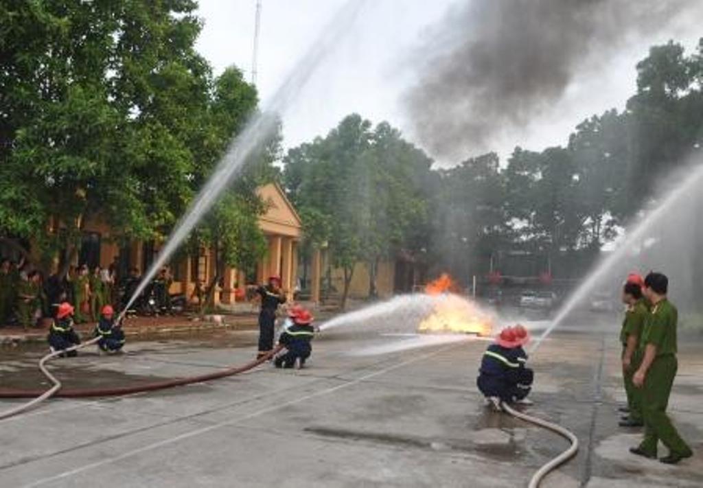Đẩy mạnh công tác phòng chống cháy nổ dịp Tết Nguyên đán và các lễ hội truyền thống năm 2019