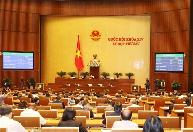 Thông cáo số 16, Kỳ họp thứ 6 Quốc hội khóa XIV