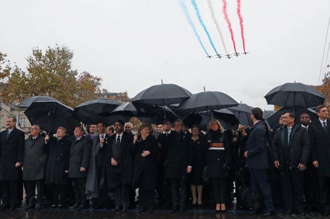 Hơn 70 lãnh đạo các nước dự kỷ niệm 100 năm kết thúc Chiến tranh Thế giới thứ nhất