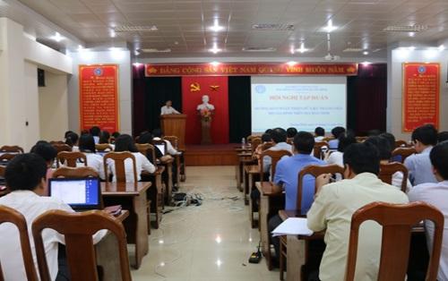 Quảng Bình: Tập huấn hoàn thiện dữ liệu thành viên hộ gia đình tham gia BHYT