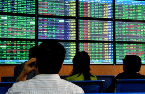 Thị trường cổ phiếu niêm yết HNX có chiều hướng giảm