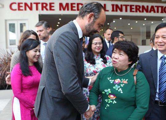 Thủ tướng Pháp dự lễ khai trương Trung tâm Y tế Pháp tại Thành phố Hồ Chí Minh