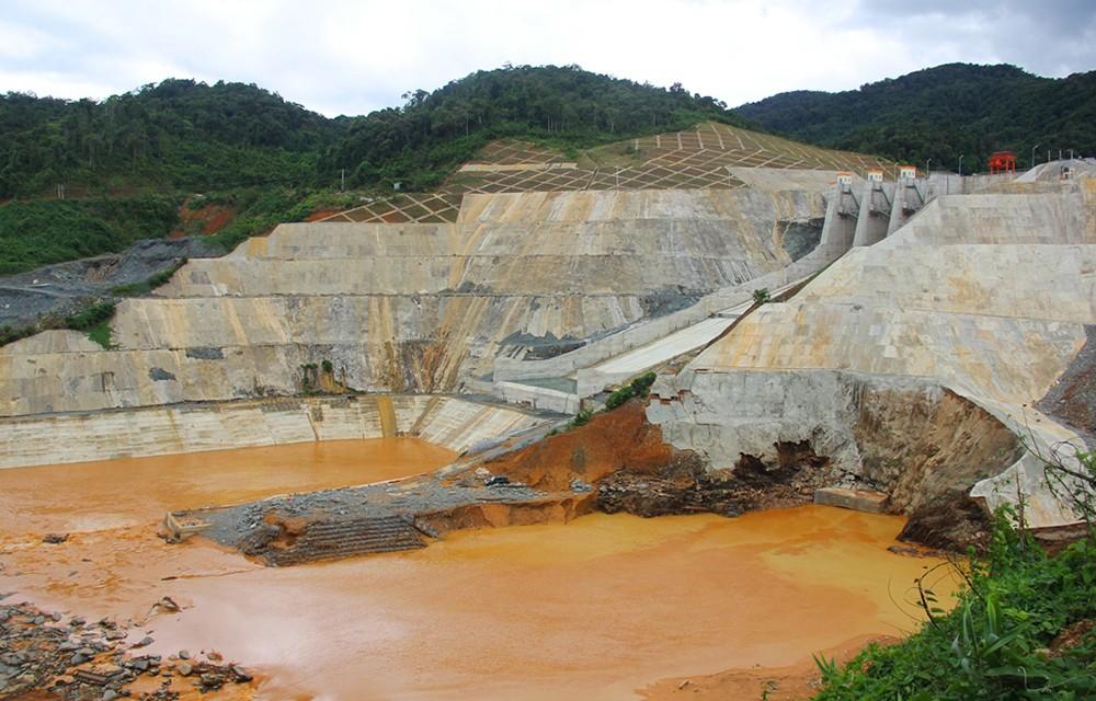 Thủy điện Sông Bung 2 tích nước trở lại sau sự cố vỡ hầm
