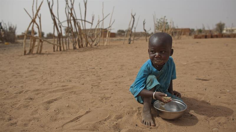 Báo động tình trạng trẻ em bị suy dinh dưỡng nặng ở khu vực Sahel