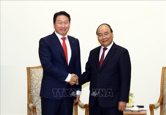 Tập đoàn SK Group muốn đầu tư vào nhiều tập đoàn tư nhân tại Việt Nam