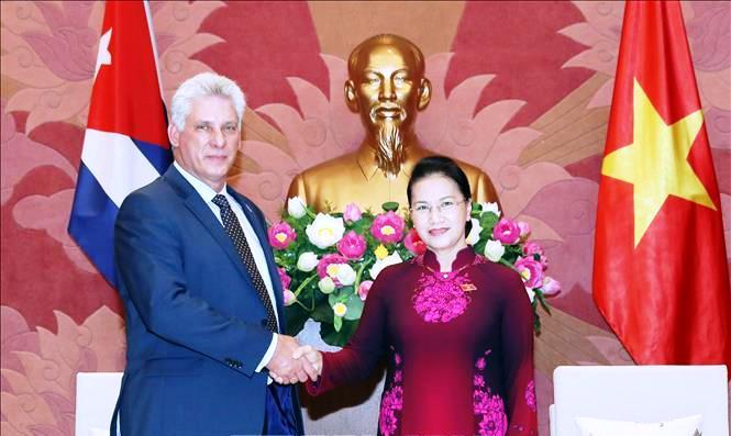 Tăng cường hợp tác giữa Quốc hội hai nước Việt Nam - Cuba