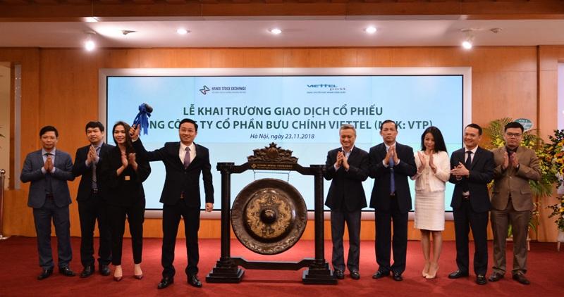 Hơn 41 triệu cổ phiếu Tổng CTCP Bưu chính Viettel lên sàn UPCoM