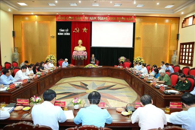 Phát huy ưu điểm, xây dựng Đảng bộ Ninh Bình trong sạch, vững mạnh