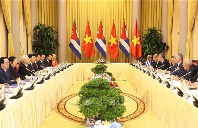 Làm sâu sắc hơn nữa quan hệ Việt Nam - Cuba
