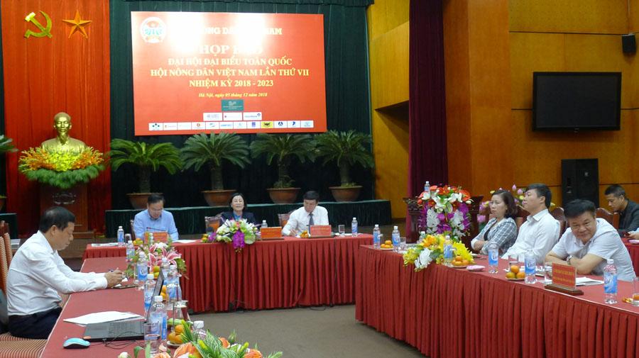 999 đại biểu dự Đại hội đại biểu toàn quốc Hội Nông dân Việt Nam lần VII
