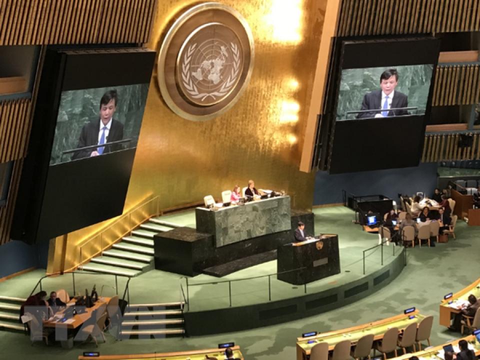 Việt  Nam trúng cử thành viên Ủy ban Luật thương mại quốc tế
