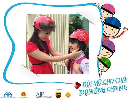 Tuyên truyền, vận động nâng cao hiệu quả đội mũ bảo hiểm ở trẻ em