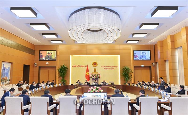 Khai mạc phiên họp thứ 29 của Uỷ ban Thường vụ Quốc hội