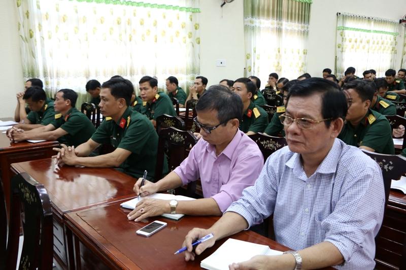 Đảng ủy quân sự Sóc Trăng triển khai, quán triệt các nội dung Hội nghị Trung ương 8 khóa XII