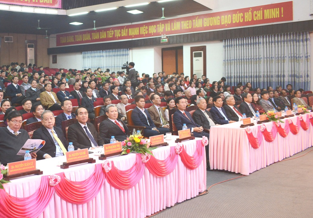 Đồng chí Nguyễn Chí Diểu vẫn mãi sáng ngời trong lòng quê hương, đất nước