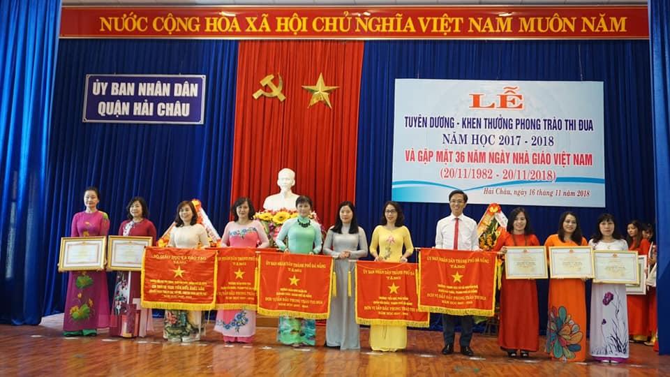 """Trường THCS Nguyễn Huệ: """"Cánh chim đầu đàn"""" của khối THCS quận Hải Châu"""