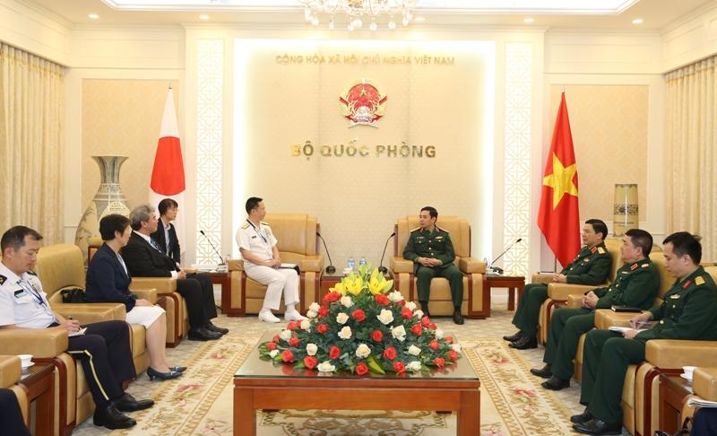 Hợp tác quốc phòng Việt Nam - Nhật Bản đạt được bước phát triển vượt bậc