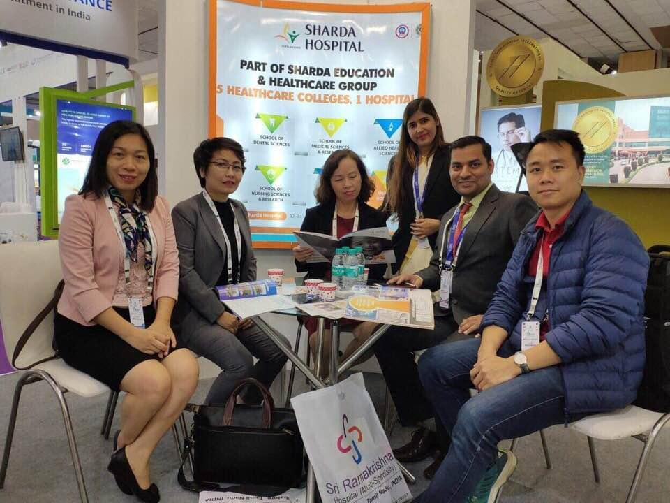 Việt Nam tham dự Hội chợ về y tế và du lịch chữa bệnh tại Ấn Độ