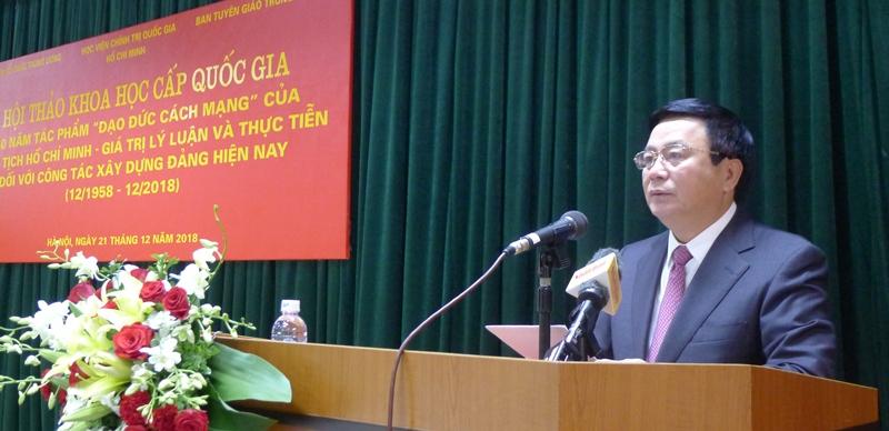 Tiếp tục học tập và làm theo tư tưởng Hồ Chí Minh về đạo đức cách mạng