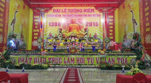 710 năm ngày Phật hoàng Trần Nhân Tông nhập niết bàn