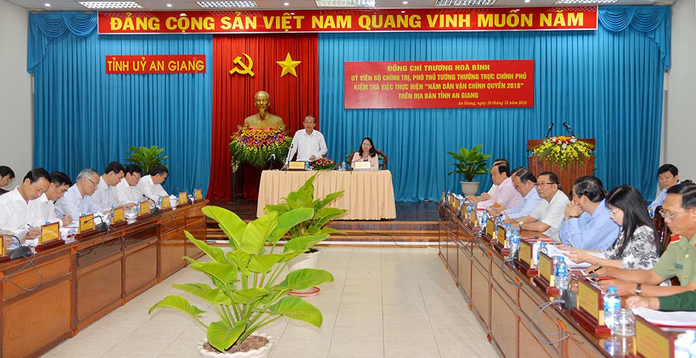 Công tác dân vận là nhiệm vụ trọng tâm của cả hệ thống chính trị