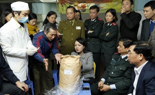 Lập các đoàn kiểm tra an toàn thực phẩm từ Trung ương đến cấp xã