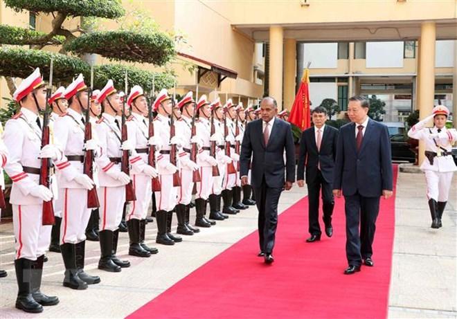 Việt Nam và Singapore tăng cường hợp tác phòng, chống tội phạm