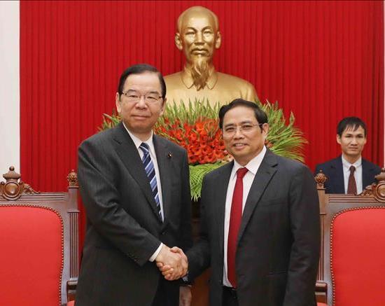 Củng cố và làm sâu sắc hơn quan hệ hữu nghị truyền thống giữa Việt Nam và Nhật Bản