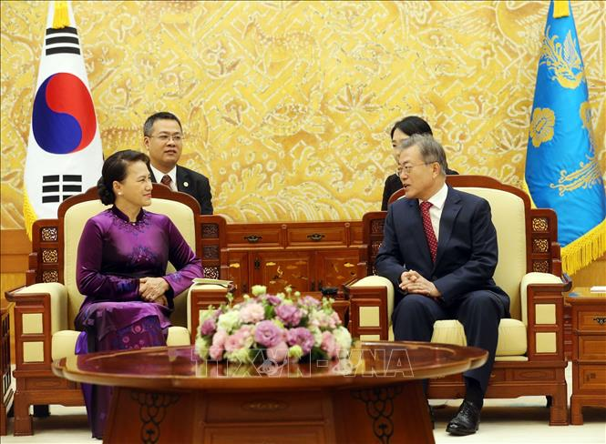Việt Nam là đối tác hợp tác chiến lược trên các lĩnh vực của Hàn Quốc