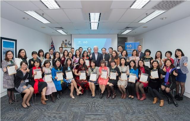 Tôn vinh các cựu sinh viên Học bổng Chính phủ Australia mới về Việt Nam