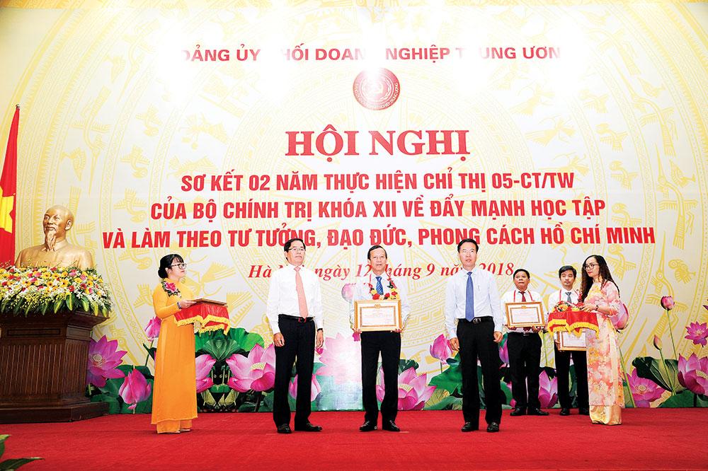 Hiệu quả học và làm theo Bác ở Đảng bộ Tập đoàn Điện lực Việt Nam
