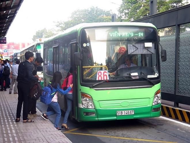 TP.Hồ Chí Minh thí điểm thẻ xe buýt thông minh