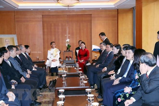 Chủ tịch Quốc hội Nguyễn Thị Kim Ngân tiếp đại diện dòng họ Lý tại Hàn Quốc