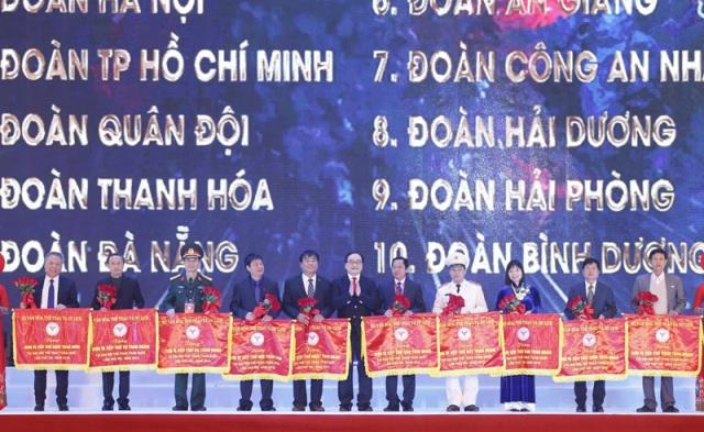 Đại hội Thể thao toàn quốc lần thứ VIII: Hà Nội xuất sắc nhất toàn đoàn